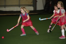 drills during U10 instructional clinic